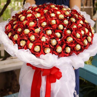 花市鲜花网_鲜花速递_巧克力之恋