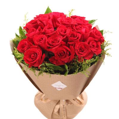 花市鲜花网_鲜花速递_父爱如歌 (19 红玫瑰 爱情 友情 情人 七夕 父亲 母亲 生日 圣诞)