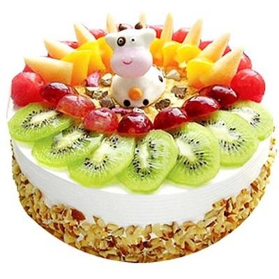 卡通水果蛋糕 12寸