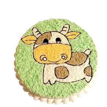 萌萌的小牛 12寸
