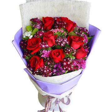 花市鲜花网_鲜花速递_想给你幸福