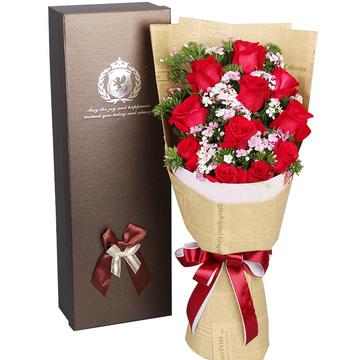 花市鲜花网_鲜花速递_热恋玫瑰