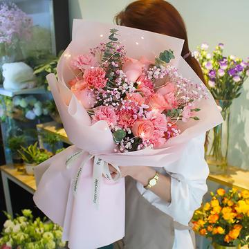 花市鲜花网_鲜花速递_暖暖微光
