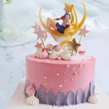美少女战士网红蛋糕 12寸