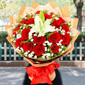 花市鲜花网_鲜花速递_一心爱你