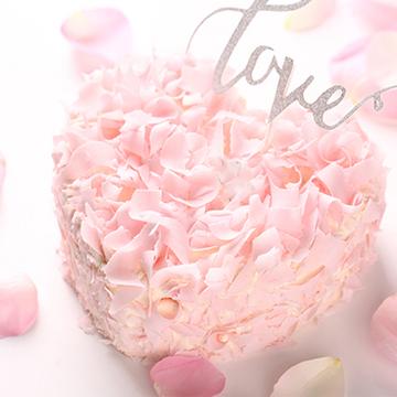 粉色浪漫 8寸